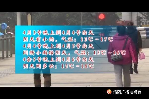 清明阴雨持续 最高气温18℃