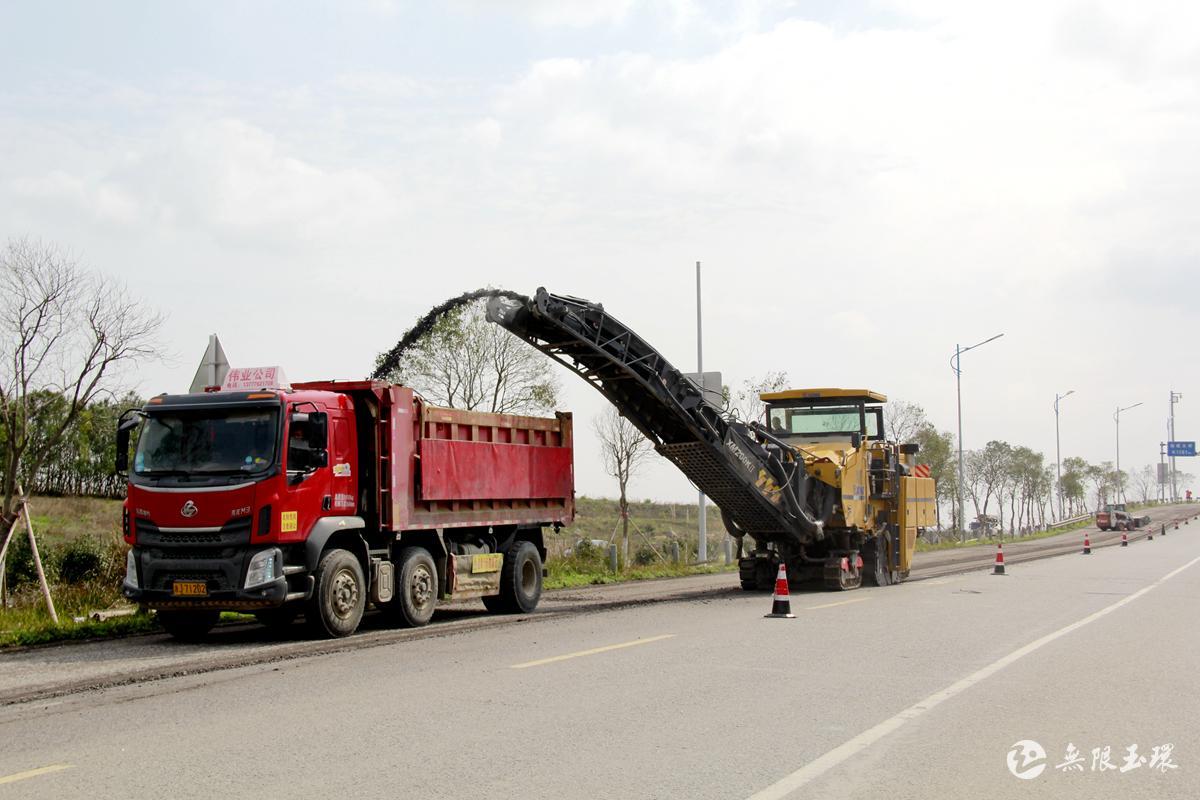 玉环:黄礁线实行半封闭施工 预计3月底前完工1