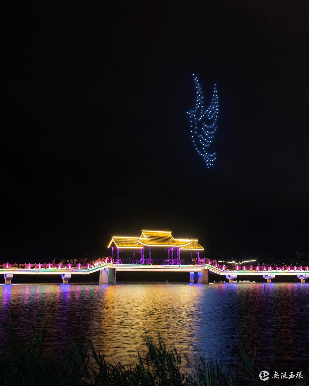 每日玉景 | 美了、美了,玉环湖之夜