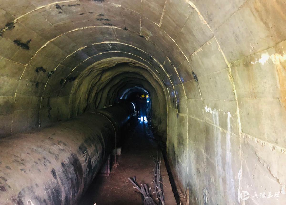 玉环:引水隧洞巡检记华菲