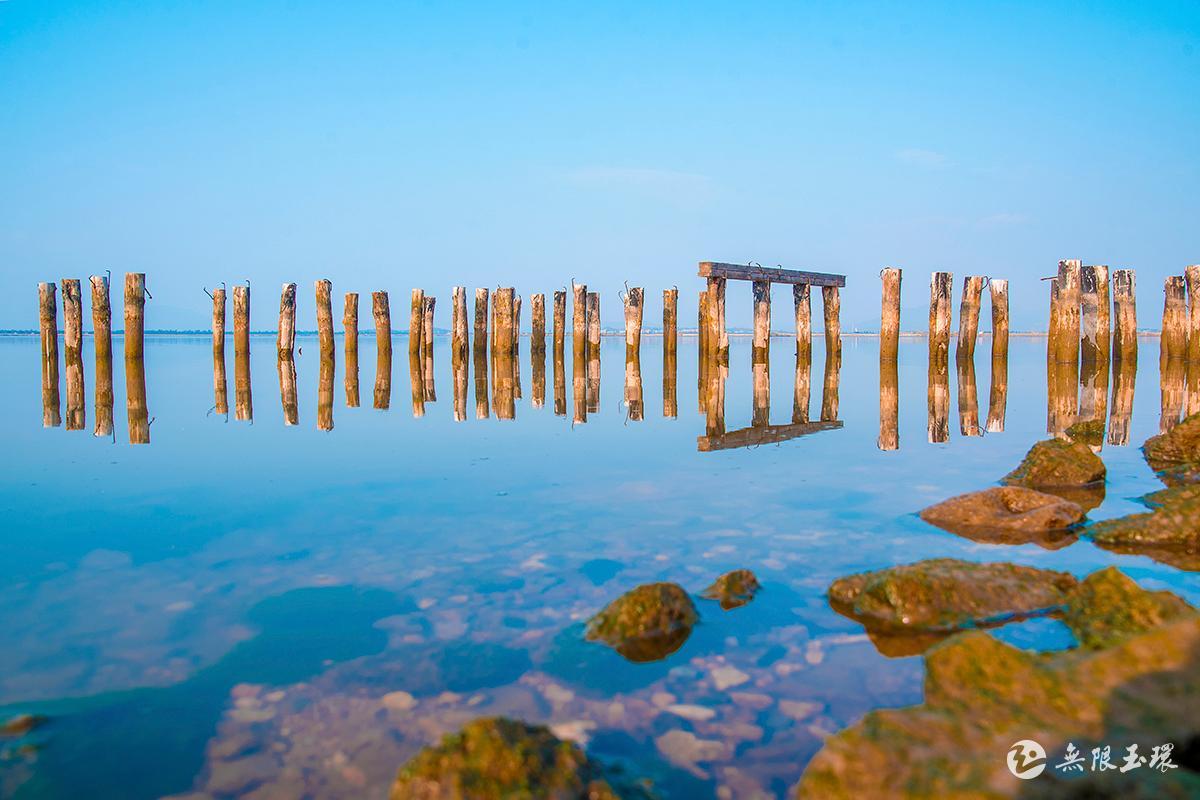 玉环湖畔残桥 李为杰